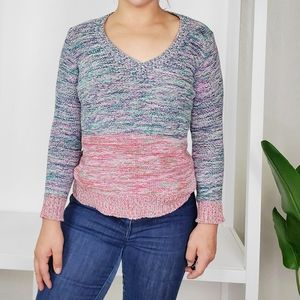 Madewell Spectrum Knit  Sweater Size M